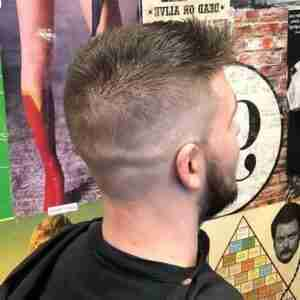 Mens Haircut Fade Judes Barber Shop