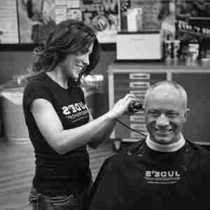 Men's Clipper Cut Older Man Judes Barber Shop