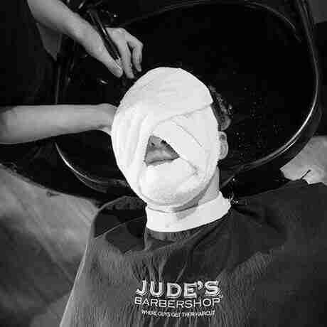 Hot Towel Treatment Judes Barber Shop