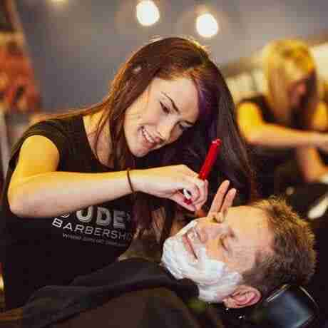 Mens-Straight-Razor-Face-Shave-2 Judes-Barbershop