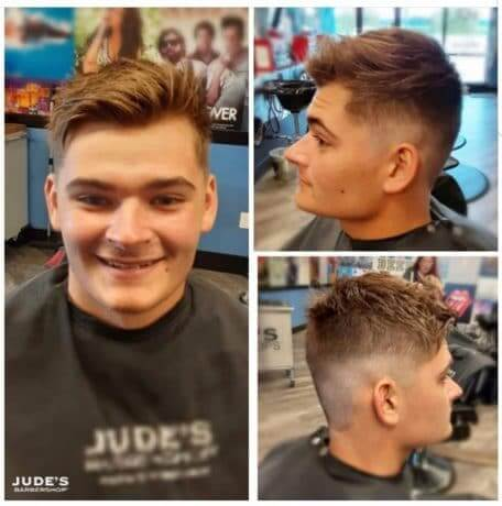 Guys-Haircut-Jude's-Barbershop-Caledonia