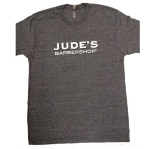 Men's Jude's-logo-tshirt-light-gray
