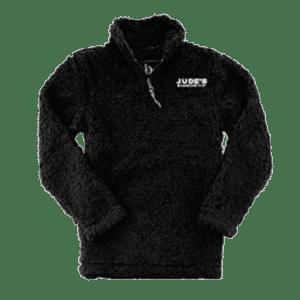 Women's-Jude's-logo-Sherpa-black
