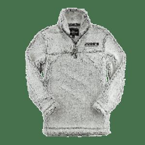Women's-Jude's-logo-Sherpa-white