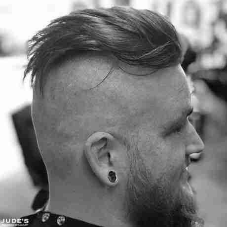 mens haircuts with beards