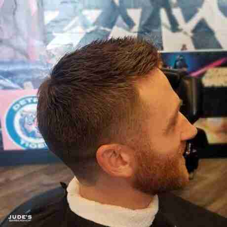 mens haircuts with beards grand rapids