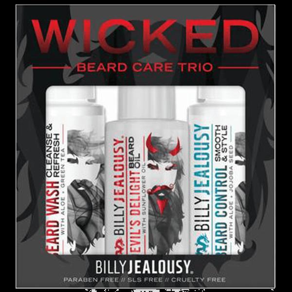 Wicked Beard Trio Kit Billy Jealousy
