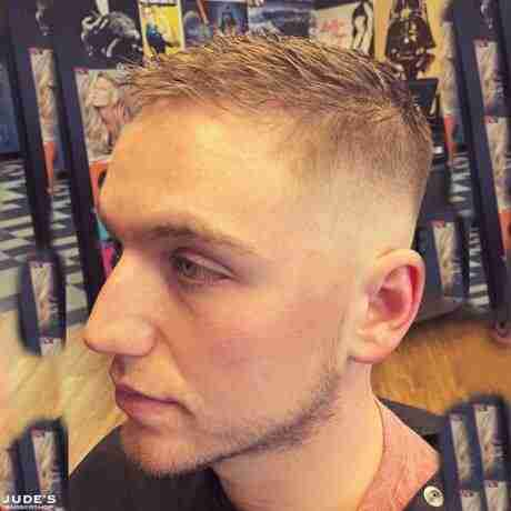 fade haircut men standale