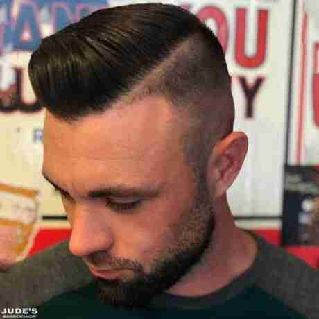 man haircut