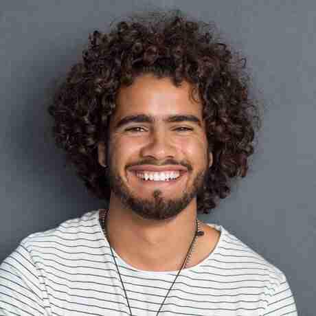 Curly Hair Mens Haircut