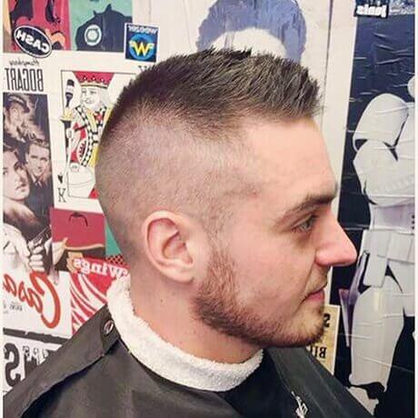 Crew Cut High Fade Haircut For Men Allendale Judes Barber Shop