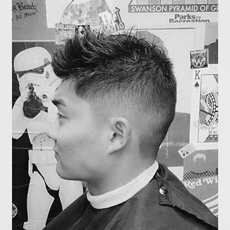 Haircut For Men Fade Allendale Judes Barber Shop