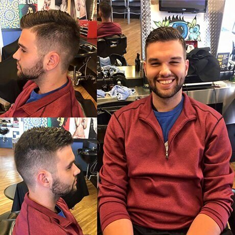 Men's Haircut Beard Trim Judes Barber Shop Celebration North