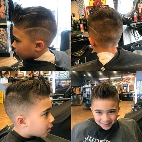 Boys Haircut & Hair Design Judes Barber Shop Celebration North