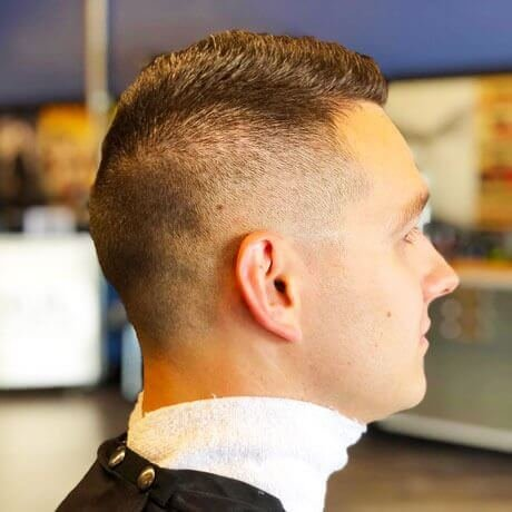 Men's Haircut Fade Judes Barber Shop Centre Portage