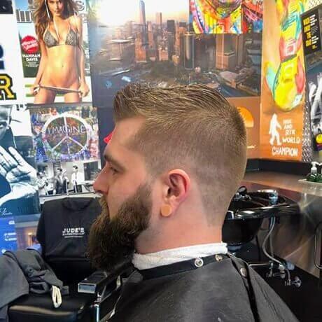Mens Haircut Beard Trim Judes Barber Shop Centre Portage