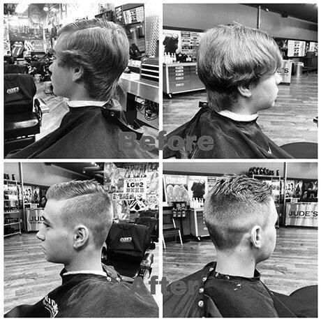 Boys Haircut Judes Barber Shop Centre Portage