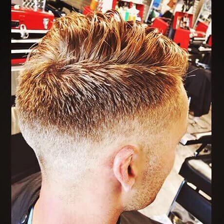 Men's Haircut Fade Centre Portage Judes Barber Shop