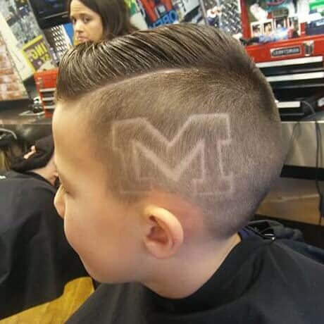 Hair Design University of Michigan logo Judes Barbershop Cheshire Area