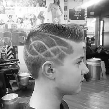 Boys Haircut & Design Judes Barber Shop Cheshire Area