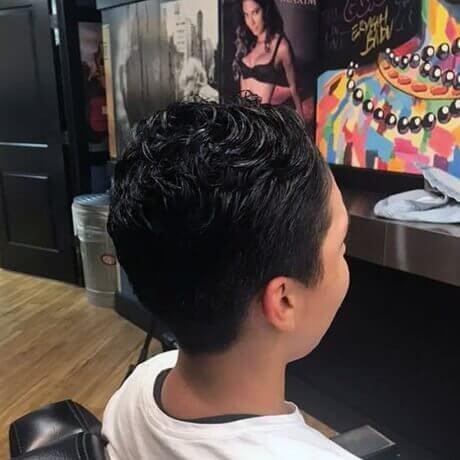 Boys Haircut Lansing Downtown Judes Barber Shop