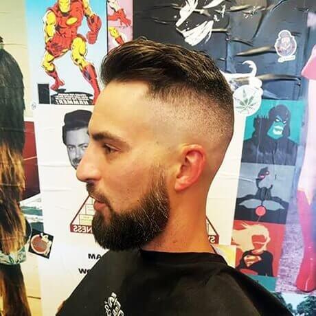Mens Haircut and Beard Trim East Beltline Judes Barber Shop