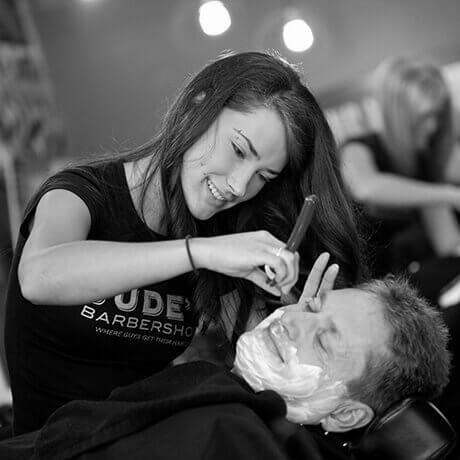 Straight Razor Face Shave East Beltline Judes Barber Shop