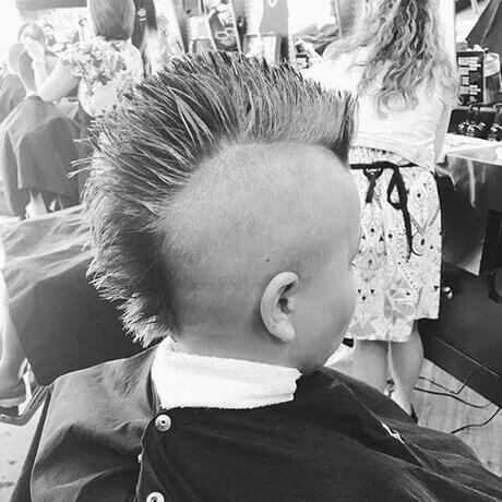 Mohawk Boys Haircut Frandor Judes Barber Shop