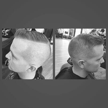 Bald Fade Mens Haircut Frandor Judes Barber Shop