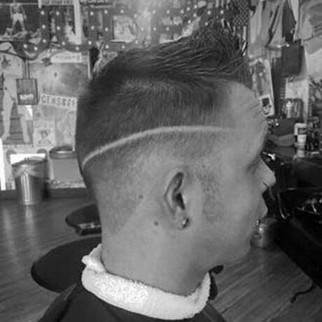 Men's Haircut and Design Judes Barber Shop Grand Haven