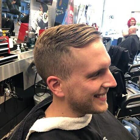 Men's Classic Haircut Judes Barber Shop Lake Lansing