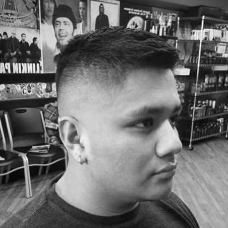 Men's Haircut Fade Standale Jude's Barbershop