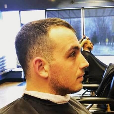 Men's Haircut Fade Judes Barber Shop Standale