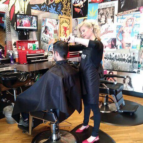 Mens Haircut Judes Barber Shop West Main Kalamazoo