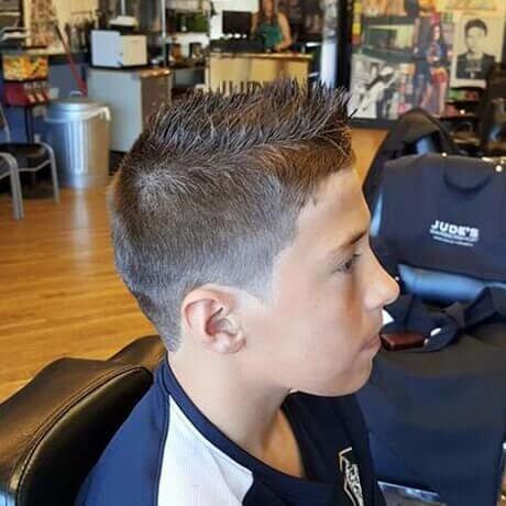 Boys Haircut Hair Design Judes Barber Shop Zeeland